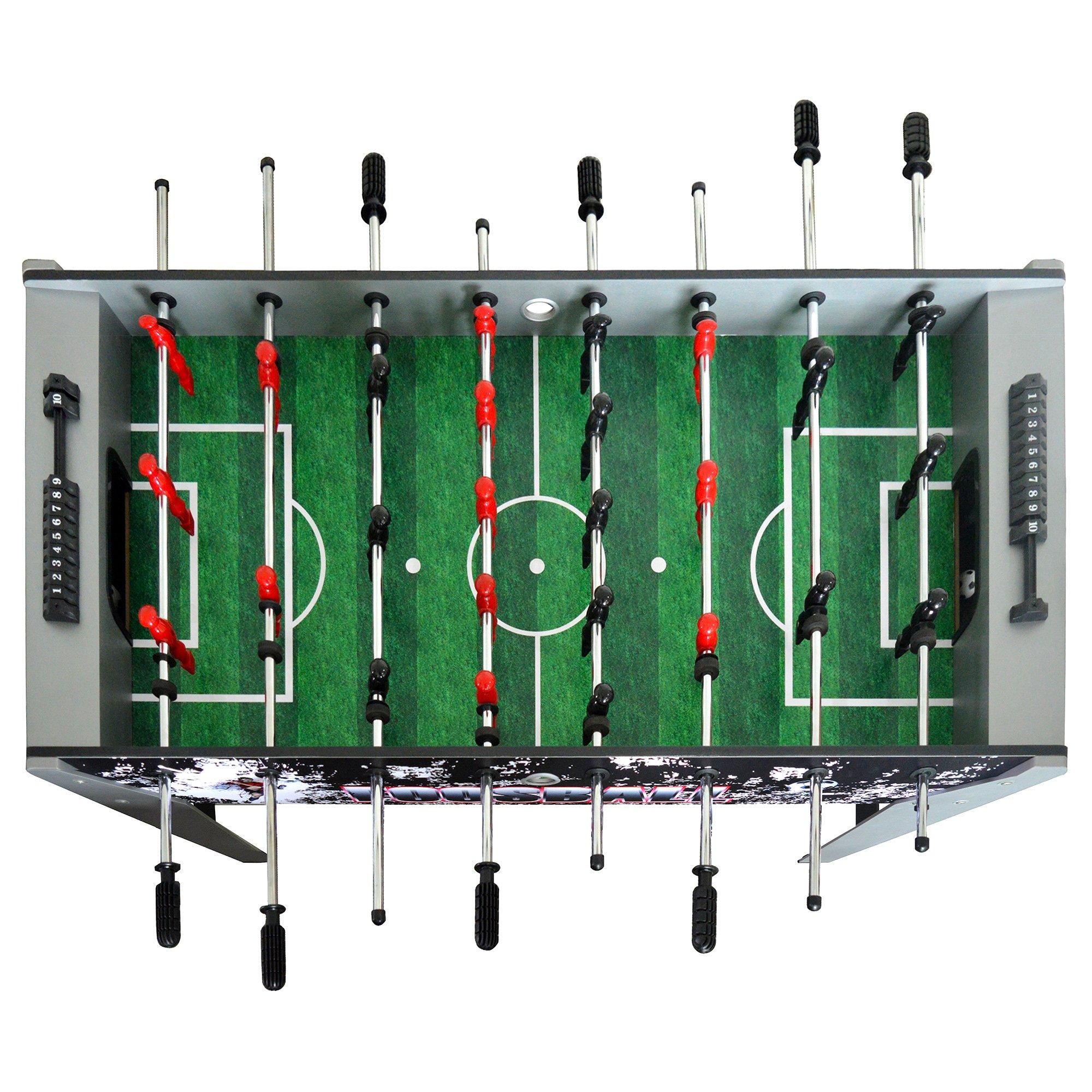 Hathaway Avalancha 48-in futbolín negro: Amazon.es: Deportes y aire libre