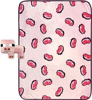 Jay Franco Minecraft Pork Chop Plush Pillow and 46
