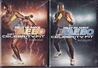 Billy Banks Taebo 2 Pack DVD Set Get Celebrity Fit Includes: Sculpt and Cardio