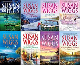 Susan Wigg's Lakeshore Chronicles 8 book set: The Summer Hideaway/Lakeshore Christmas/Fireside/Summer at Willow Lake/Docks...