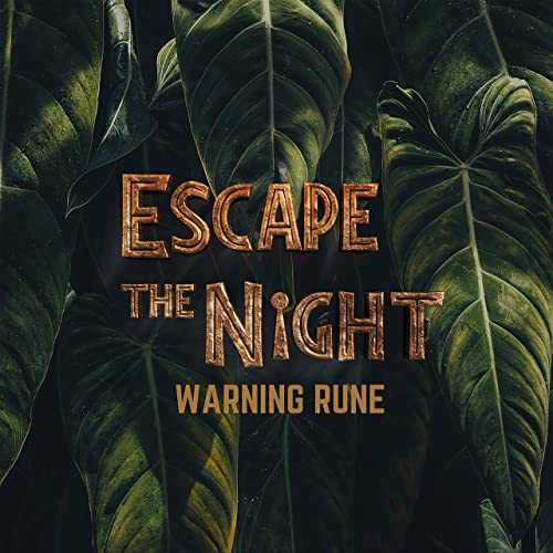 Warning Rune (Official Escape the Night Season 4 Theme Song