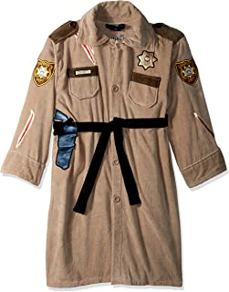 Walking Dead The Rick Uniform Adult Bathrobe One Size Brown 72fa2ce03