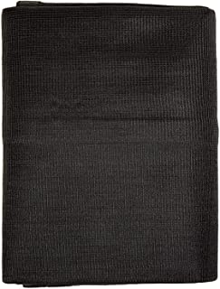 Windscreensupplyco Heavy Duty Black Knitted Mesh Tarp with Grommets 60-70% Shade (12 FT. X 16 FT.)