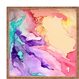 Deny Designs Rosie Brown Color My World Square Tray