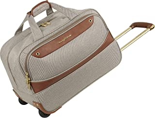 "Tommy Bahama 20"" Wheeled Duffle Bag Suitcase Luggage, Brown"