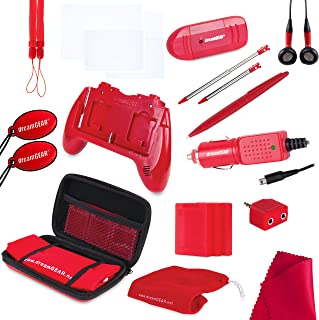 dreamGEAR Nintendo 3DS 20-in-1 Essentials Kit (red)