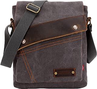 Aibag Messenger Bag, Vintage Small Canvas Shoulder Crossbody Purse
