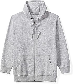 Men's Big & Tall Full-Zip Hooded Fleece Sweatshirt fit by...