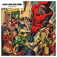 Retrospect Group Classic Comic Book Covers 2019 Square Calendar (YS 1028)