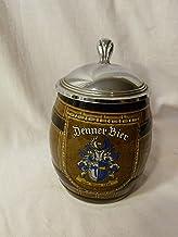 Vintage 1960s Marzi & Remy German Porcelain Stoneware Denner Bier Beer Stein With Lid - Pattern 3096