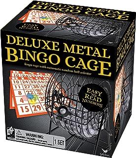 Deluxe Wire Cage Bingo Set (styles will vary)