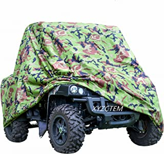 XYZCTEM UTV Cover with Heavy Duty Oxford Waterproof Material, 114.17