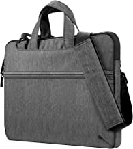 Plemo 13-13.3 Inch Waterproof Laptop Briefcase, 3 Layers Shockproof Padded Nylon Laptop Sleeve with Strap for MacBook Pro, MacBook Air, Notebook and Tablet