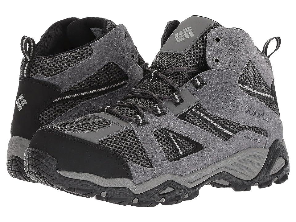 Columbia Hammondtm Mid Waterproof Trail Shoe (Shark/Light Grey) Men