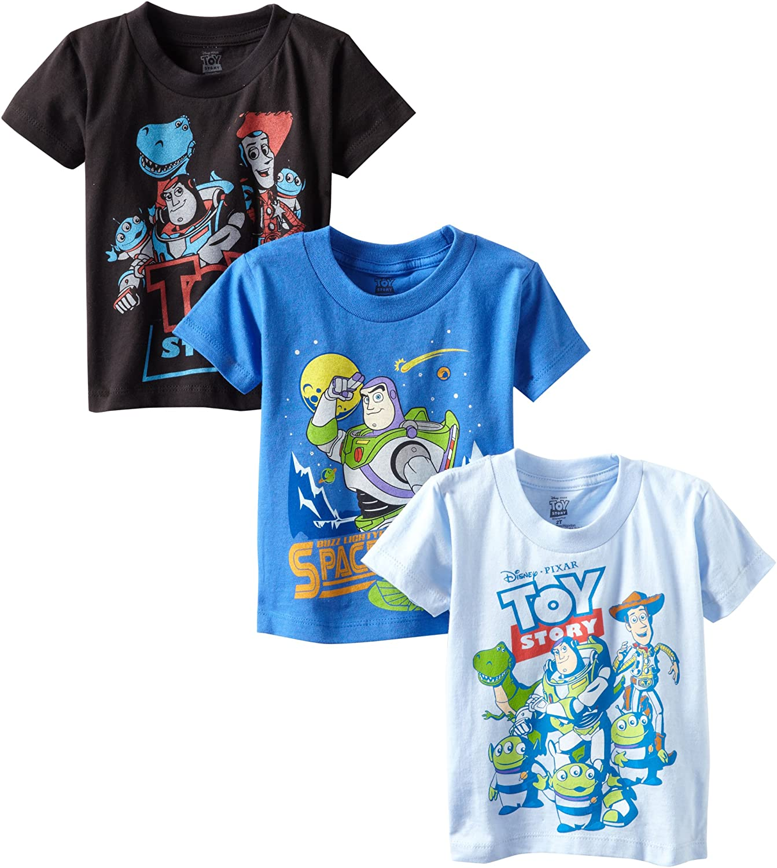 Disney Toddler Boys Toy Story Short Sleeve T-Shirt