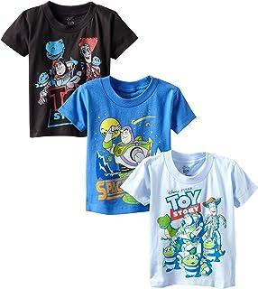 Disney Boys' Toy Story 3-Pack T-Shirt