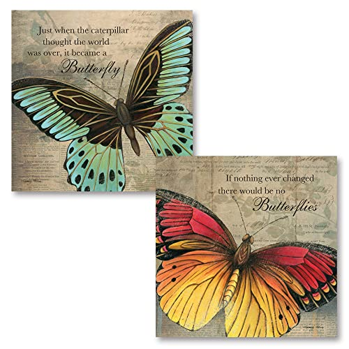 Gango Home Decor Inspirational Butterfly If Nothing Ever Changed There Would Be No Butterflies And Just