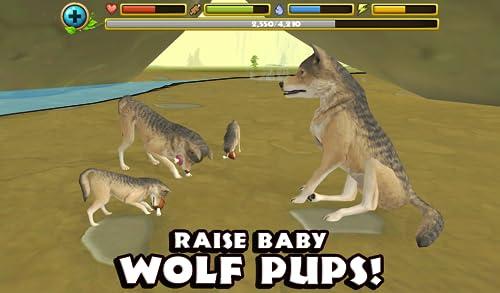 『Wildlife Simulator: Wolf』の5枚目の画像