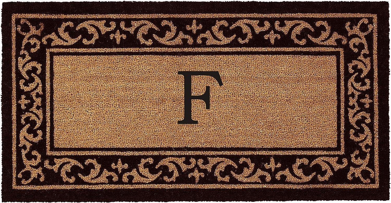 Kendall Monogram Doormat 24  x 48  (Letter F)