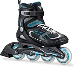 Bladerunner by Rollerblade Advantage Pro XT Women's Adult Fitness Inline Skate, Black and Light Blue, Inline Skates