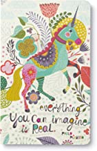 """Write Now Journal by Compendium: """"Everything you can imagine is real."""" — Softcover with periodic typeset quotations, 128 lined pages"""