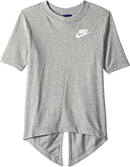 Nike Kids Sportswear Split Short Sleeve Top (Little Kids/Big Kids)