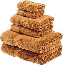 Superior 900GSM 6 PC RT Towel Set, 6PC, Rust
