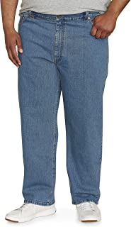 Amazon Essentials Men's Big & Tall Relaxed-fit Stretch Jean fit by DXL