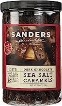 product image for Sanders Dark Chocolate Sea Salt Caramels - 36 ounces (2.25 pounds)