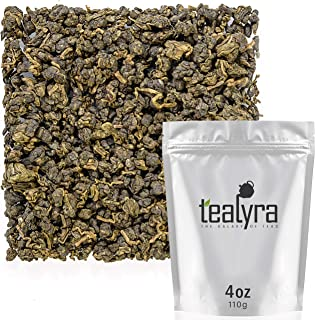 Tealyra - Ginseng Oolong Premium - Best Taiwanese Oolong - Loose Leaf Tea - Healthy - Digest and Energy Tea -Medium Caffeine - 110g (4-ounce)