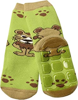 Weri Spezials Baby and Kids - Calzini in ABS per bambini e neonati, colore: Verde