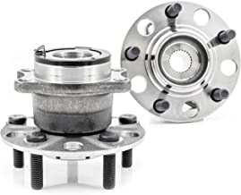 QJZ [2-Pack/Pair] 512333 New Rear Wheel Hub & Bearing Assembly for Dodge 2007-2008 Caliber 4x4 / 4WD Model, Jeep 2007-2017 Compass 4x4 / 4WD Model, Patriot 2007-2017 4x4 / 4WD Model