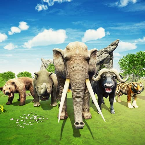 Wild Animal Kingdom Battle Simulator RTS Strategiespiele