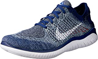 Free RN Flyknit 2018 942838 402 Blue Void/White/Blue Tint Men's Running Shoes
