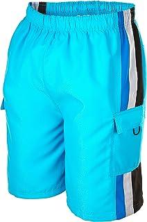 Phantom Aquatics Seaboard Surf Wear Mens Swim Trunks, Turquoise, X-Large