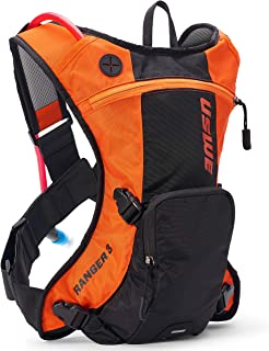 Ranger preto laranja da Uswe - Pacote de hidratação de 3 litros (padrão, laranja)