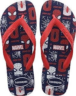 Chinelo Havaianas Top Marvel Logomania criança-unissex