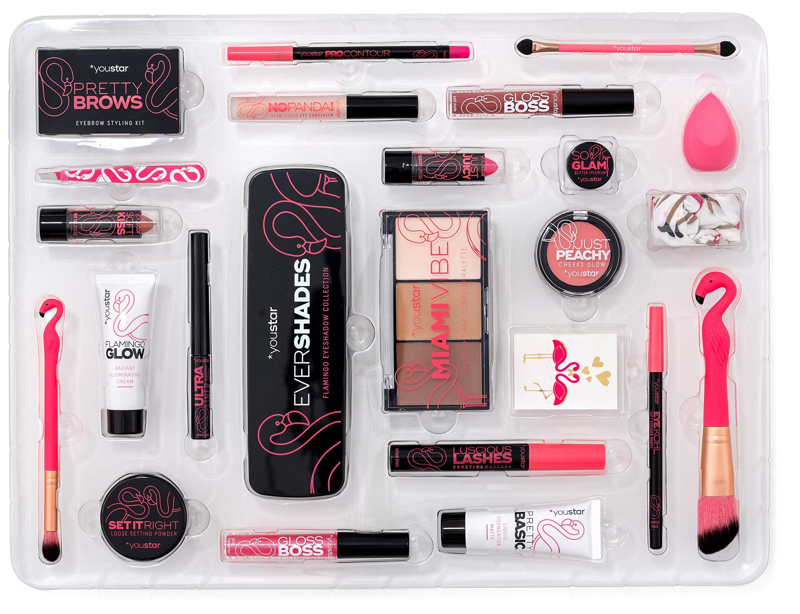 Make-up advent calendarPINK FLAMINGO X-MAS 2018, youstar
