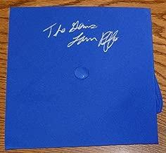 The Genius Lanny Poffo Signed Graduation Cap Hat COA Autographed WWE WWF - PSA/DNA Certified - Autographed Wrestling Photos