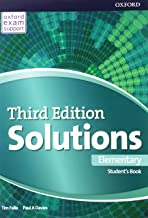 Solutions 3rd Edition Elementary. Workbook (Solutions Third Edition)