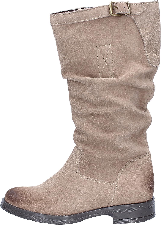 J. K. ACID Boots Womens Suede Beige