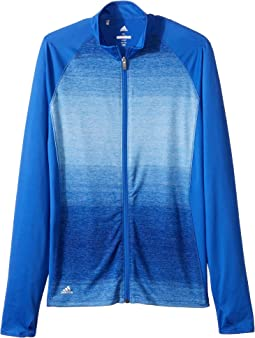adidas Golf Kids - Rangewear Full Zip Jacket (Big Kids)