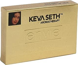 Keya Seth Aromatherapy Envie Gold Facial Kit(Facial Polisher + Toning Gel + Massage Cream + Face Pack + Nourishing Cream)