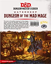 Dungeons & Dragons - Dungeon of The Mad Mage DM Screen
