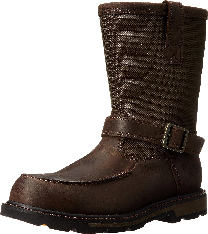 da96426104b ARIAT Men's Groundbreaker Moccasin H2O Steel Toe Toe Toe Work Boot ...
