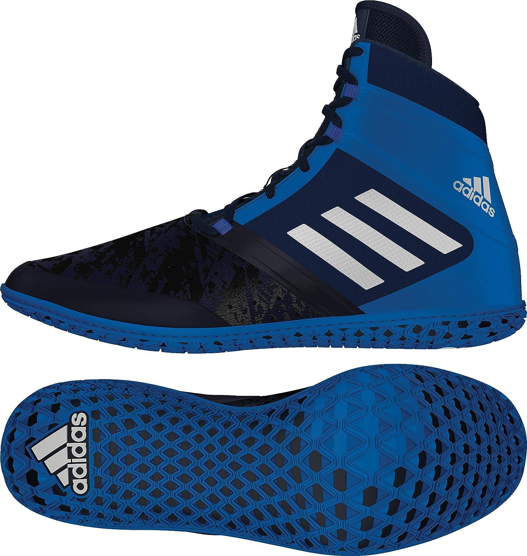 Adidas Impact Wrestling shoes - Navy Silver Royal - 12.5