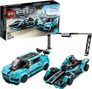 Lego 76898 Speed Champions Formula E Panasonic Jaguar Racerbilleksak, Flerfärgad