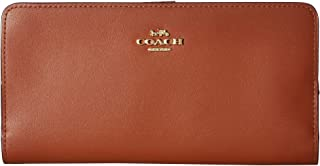 Women's Smooth Leather Skinny Wallet