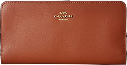 COACH Women's Smooth Leather Skinny Wallet