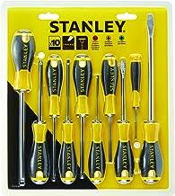 STANLEY STHT0-60211 Essentiële Schroevendraaier Set - Geel (10-Stuk)